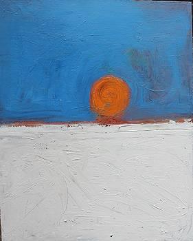 Sunset No. 11 Oil on board 16 x 20 2008 by Radoslaw Zipper