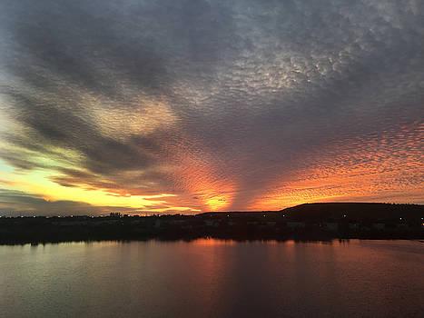 Sunset by Nora Martinez