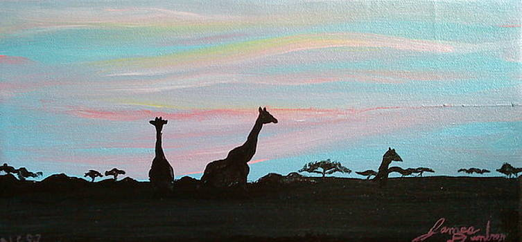 Sunset Of Africa by Portland Art Creations