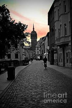Jost Houk - Sunset of Castle Church