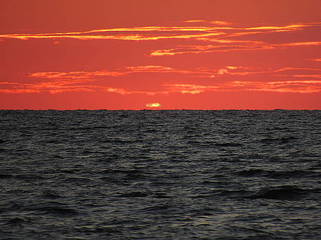 Sunset of Fire by Ron Enderland
