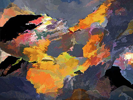 Sunset of the Gods 4 by Lynda Lehmann