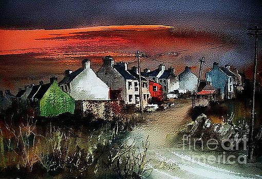 Val Byrne - Sunset on Allihies, Beara, West Cork