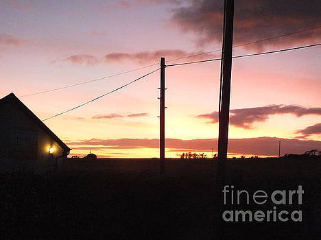 Val Byrne - Sunset on Bunmahon