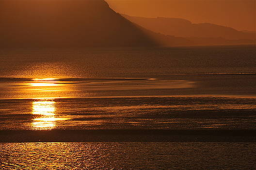 Harry Robertson - Sunset on Coast of North Wales