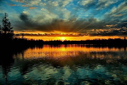 Matthew Winn - Sunset on Devoe Lake