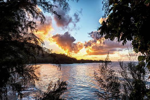 Sunset on Kauai by Jeremy Clinard