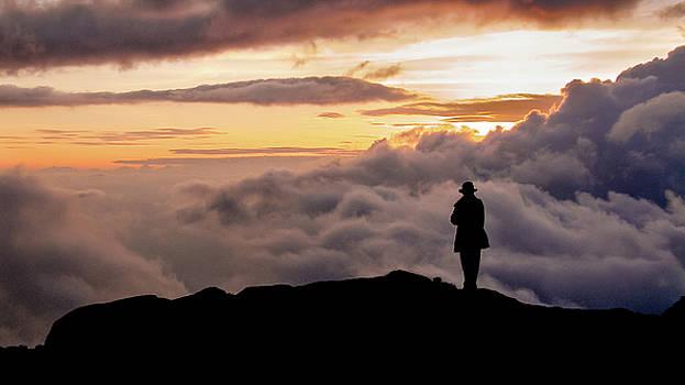 Andrew Wilson - Sunset on Mount Kilimanjaro