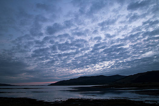 Sunset on Mull by Russell Millner