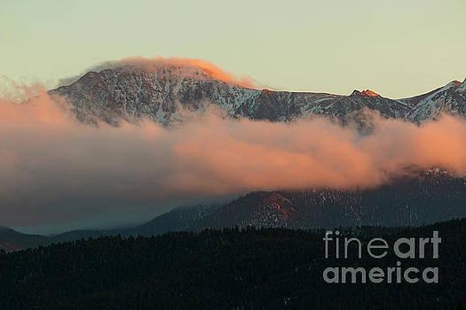 Steve Krull - Sunset on Pikes Peak