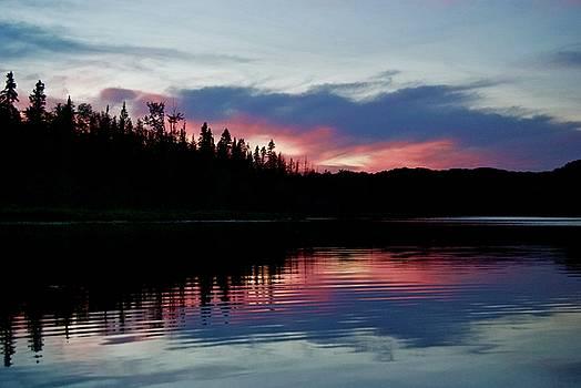 Sunset on Sage Lake by Michael Peychich