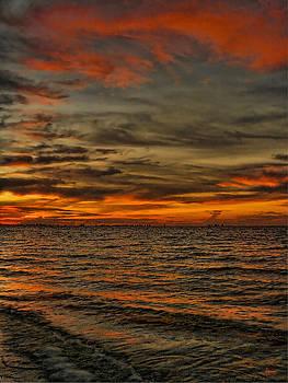 Sunset on Sanibel Island 2 by Jeff Breiman