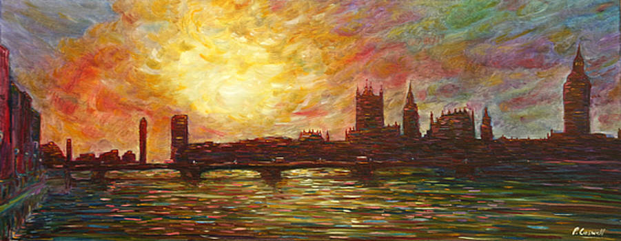 Pete Caswell - Sunset on Thames