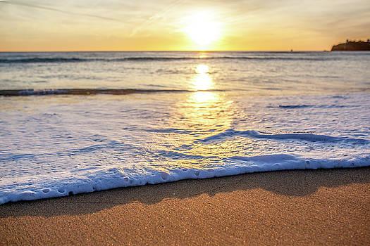 Lorrie Joaus - Sunset on the beach