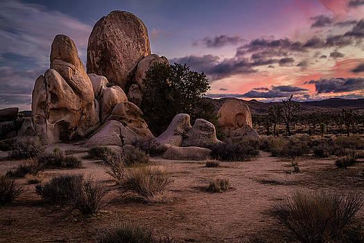 Rick Strobaugh - Sunset on the Boulders