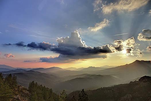 Sunset on the Col de Bavella by Martin Wackenhut