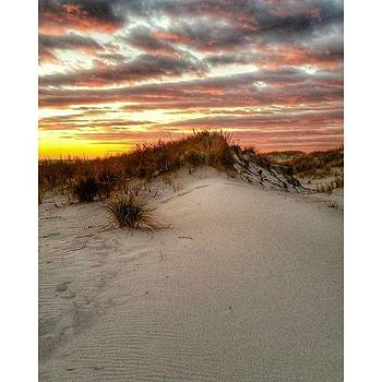 Sunset On The Dunes Tonight! by Visions Photography by LisaMarie