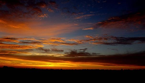 Sunset on the Fourth by Julie Pappas