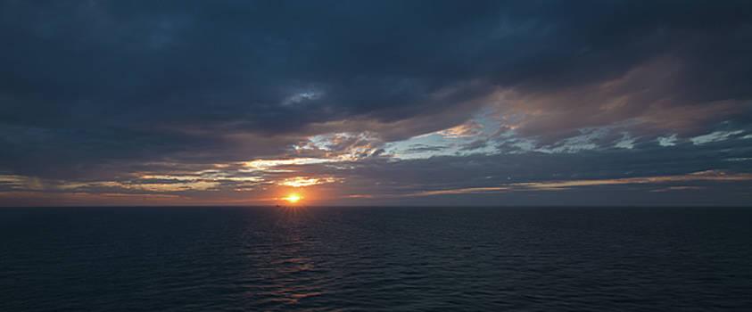 Sunset on the Gulf by Greg Thiemeyer