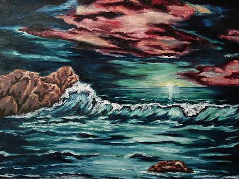 Sunset on the Horizon by Cheryl Pettigrew