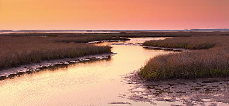 Bill Chambers - Sunset on the Marsh