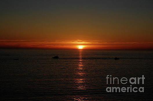 Sunset on the Ocean by Tatyana Binovska