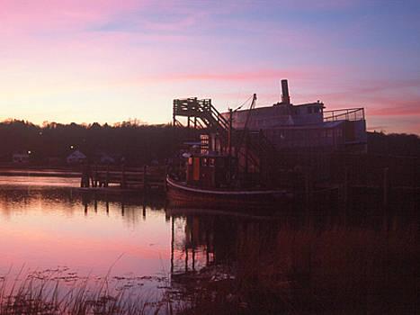 Sunset on the Old Ship by Jennifer Ferrier