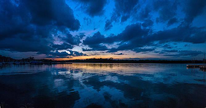 Casey Becker - Sunset on the pier