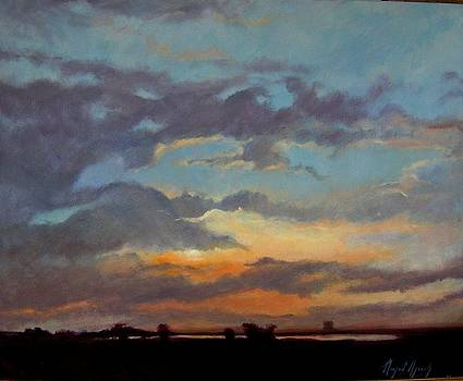 Sunset on the Prarie by Margaret Aycock