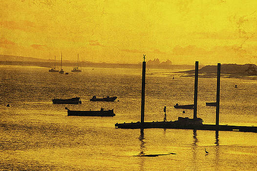 Boats And Yachts On The River Crouch Essex  by Andrew David Photography