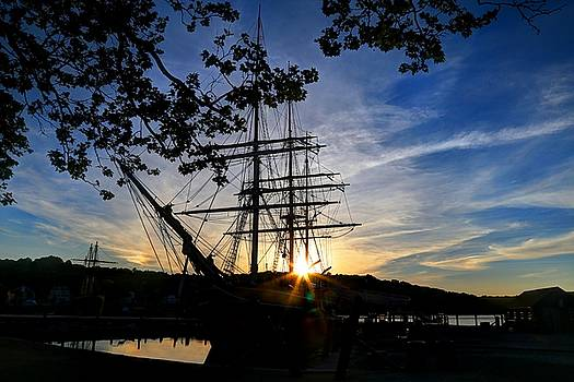 Sunset on the Whalers by John Meader