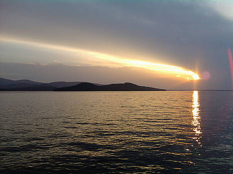 Sunset on Winnipesaukee by Stephen Smith