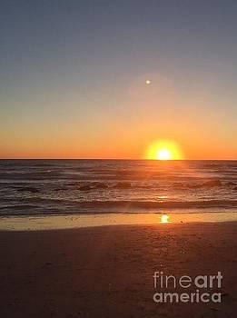 Sunset Orbs by Linda Dautorio