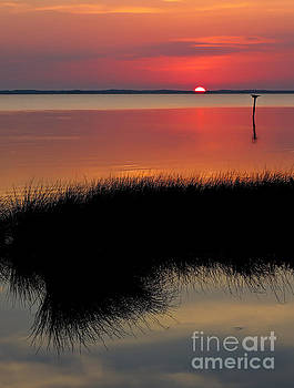 Sunset Outer Banks OBX by Jeff Breiman