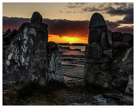 Sunset over Aran Islands, Ireland by Phil Callan Photography
