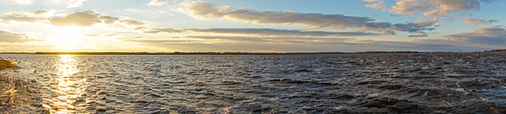 Sunset Over Cape Fear River by Willard Killough III