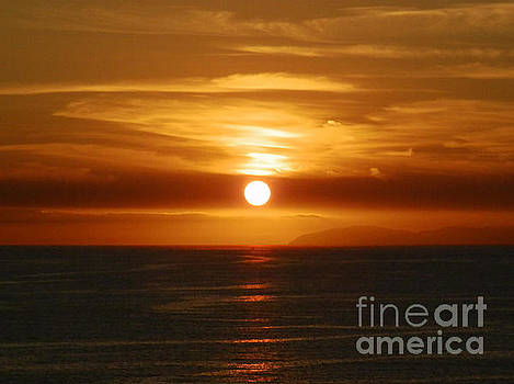 Sunset over Catalina by Robert Ball