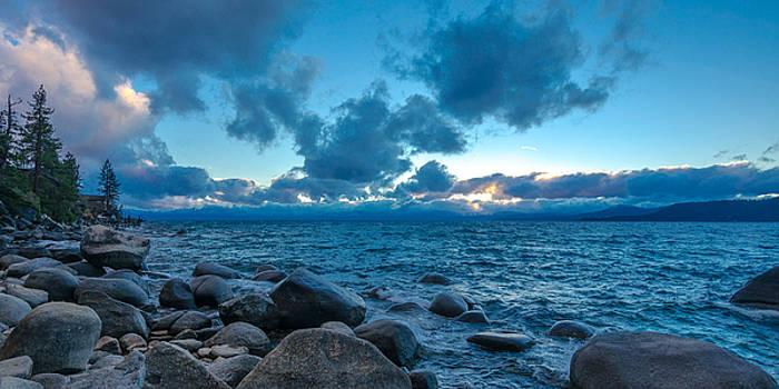 Sunset over Crystal Bay, Lake Tahoe by Matthew MacPherson