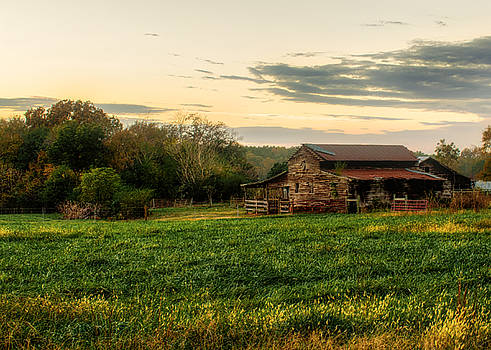 Sunset Over Dogwood Ridge by Mark Guinn