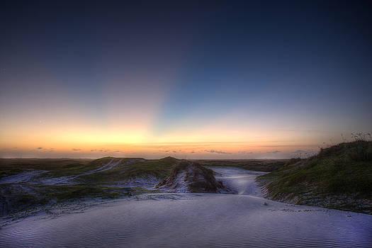 Bonnie Davidson - Sunset Over Dunes