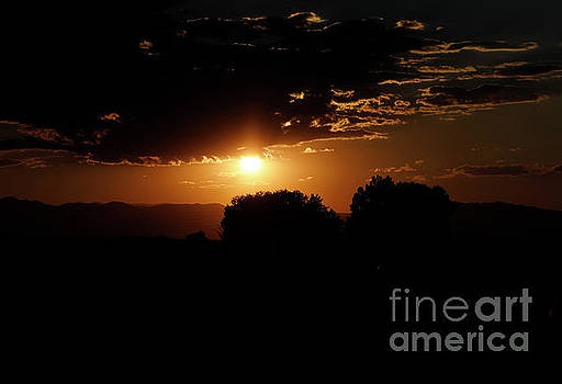 Sunset over Ft. Collins by Stephen Schwiesow