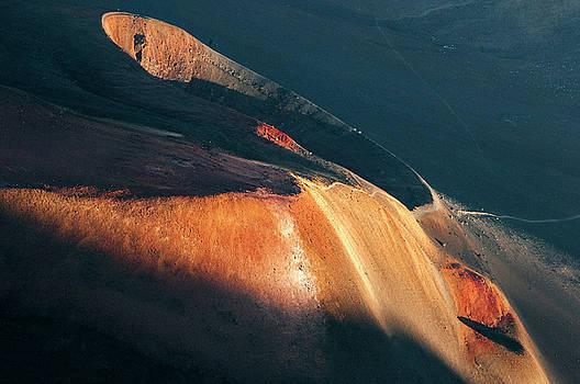 Sunset over Haleakala Crater by Alina Oswald
