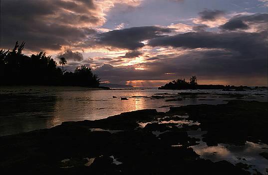 Sunset over Hawaii by Alynne Landers