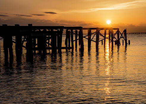Chris Coffee - Sunset Over Lake Pontchartrain