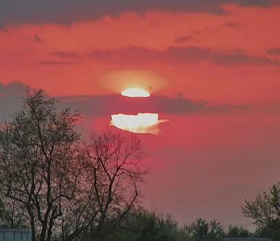 Sunset Over Lexington by Arlene Cooper