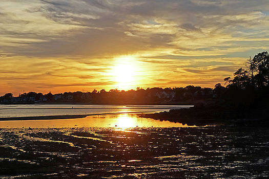 Toby McGuire - Sunset over Lynch Park Beverly MA