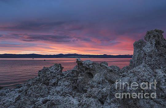Sandra Bronstein - Sunset Over Mono Lake