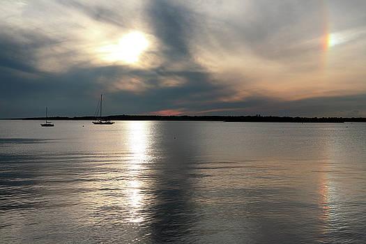 Sunset Over Narragansett by Lon Casler Bixby
