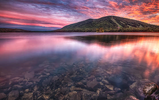 Sunset Over Shawnee Peak by David Pratt