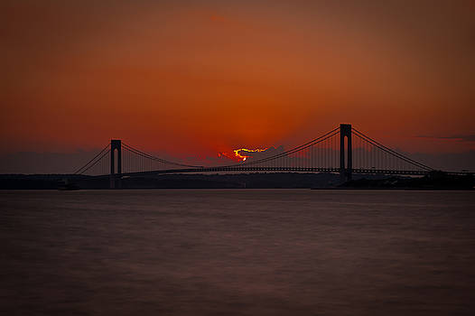 Dave Hahn - Sunset over Staten Island
